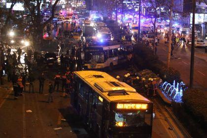 13 марта в Анкаре произошел теракт, унесший жизни 37 человек // Mustafa Kaya/Global Look Press