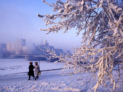 В сочельник москвичей ждут двадцатиградусные морозы // Антон Кавашкин / Global Look Press