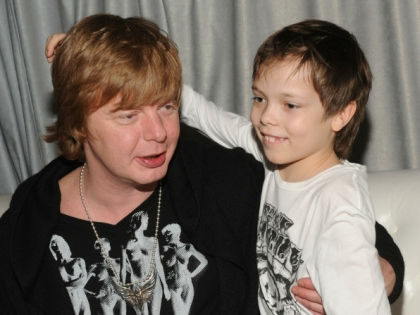 Андрей Григорьев-Апполонов с сыном // Russian Look