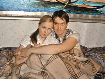 Денис Матросов с экс-супругой Марией Куликовой //  архив редакции