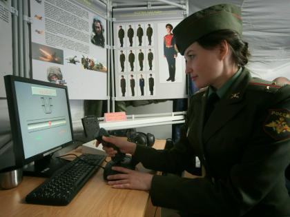 У российских военных появился свой интернет // Zamir Usmanov / Global Look Press