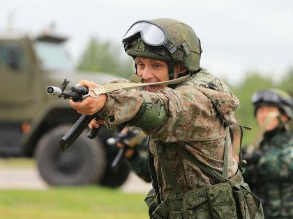 гвардеец Национальной гвардии РФ (Росгвардии) // rosgvard.ru