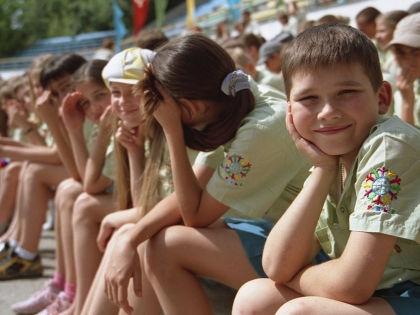 Дети в лагере // Сервер Амзаев