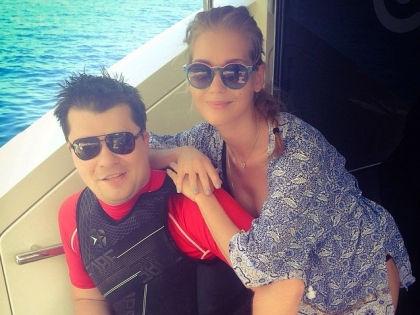 Гарик Харламов и Кристина Асмус // instagram.com