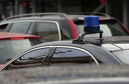Audi с номерами АМР и спецсигналом сбил пешехода // Николай Титов /  Russian Look