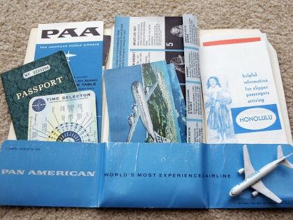 Авиабилеты и документы // Global Look