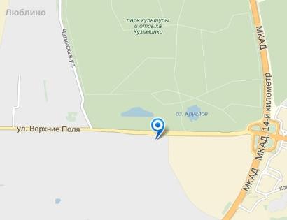 В аварию попали автобусы 10 и 54 маршрутов // Яндекс.Карты