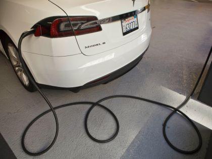 Автомобиль компании Tesla Motors // Mark Avery / Global Look Press
