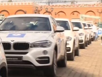 Наградные BMW // Кадр YouTube