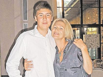 Егор и Анастасия Сосины // семейный архив