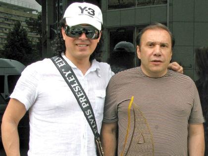Андрей Алексин и Виктор Батурин // Архив Андрея Алексина