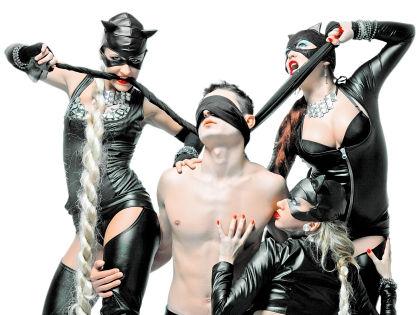 БДСМ-проституция – особая ниша в интимном бизнесе // Shutterstock