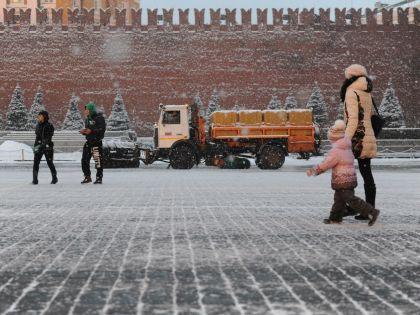 В этот Новый год москвичам досталась снежная и морозная погода // Антон Белицкий / Global Look Press
