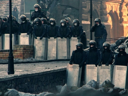 Бывшие сотрудники батальона «Беркут» были задержаны 21 апреля в Харькове // Russian Look