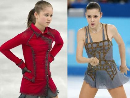 Юлия Липницкая и Аделина Сотникова // Global Look Press