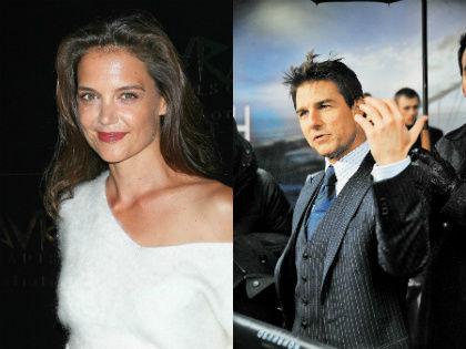 Том Круз и Кэти Холмс // Global Look Press