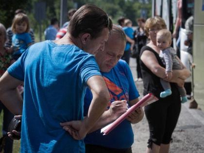 Украинские беженцы в Ростовской области // Global Look