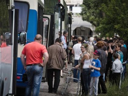 Украинские беженцы // Global Look