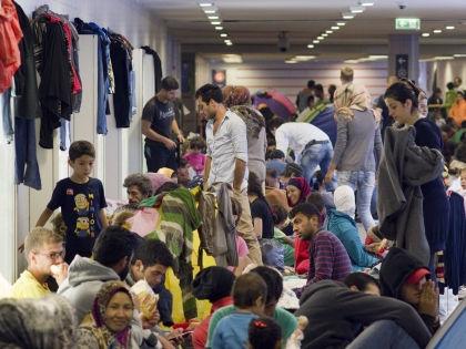 Наплыв беженцев в Германии всколыхнул Евросоюз // Global Look Press