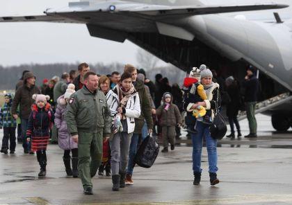 Беженцы из Украины  // Global Look Press