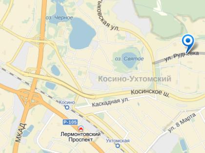 Инцидент произошел на улице Рудневка // Яндекс.Карты