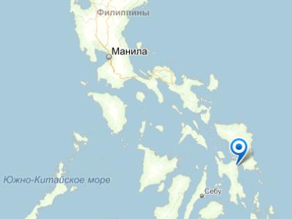 Инцидент произошел в аэропорту города Таклобан в 360 км от филиппинской столицы Манилы // Яндекс.Карты