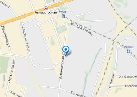 Инцидент произошел в медучреждении, расположенном по адресу Авиамоторная улица, дом 55 // Яндекс.Карты