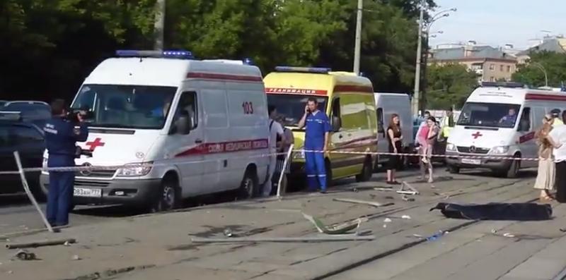 В ДТП в СЗАО Москвы погиб ребенок // Кадр Youtube