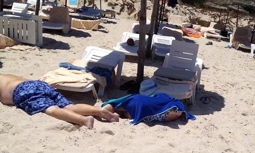 В ходе террористической атаки в Тунисе пострадали туристы // Instagram