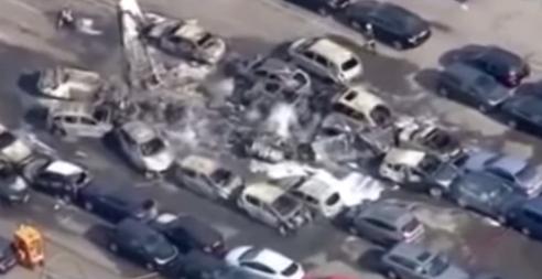 Самолет семьи бин Ладена разбился // Стоп-кадр «Вестей»