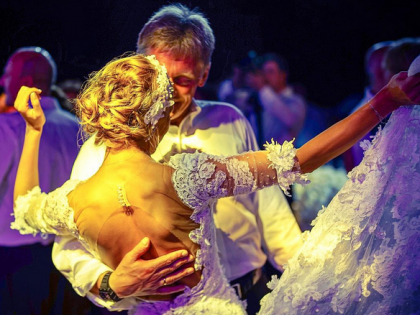 Татьяна Навка и Дмитрий Песков //  Личная страница Instagram Олега Митволя