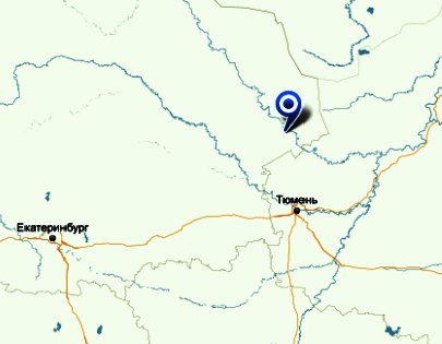 Инцидент произошел в городе Тавда в 360 км к северо-востоку от Екатеринбурга // Яндекс.Карты