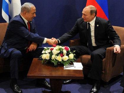 Владимир Путин с премьер-министром Израиля Биньямином Нетаньяху //  Официальный сайт президента РФ