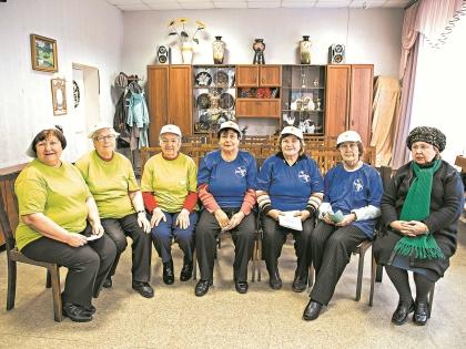 Что они геронтоволонтеры, пенсионеры узнали недавно // Кристина Бражникова