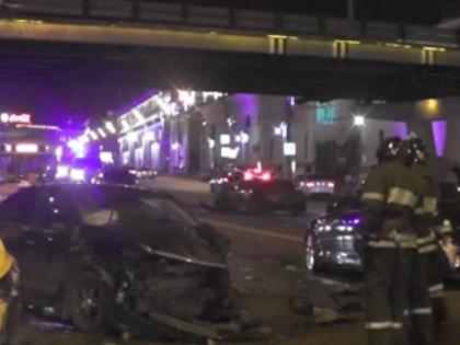 В октябре в этом же районе в аварию попал «бриллиантовый мальчик» Томас Левиев // Кадр YouTube