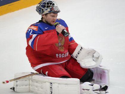 Вратарь сборной России Сергей Бобровский // Федерация хоккея России