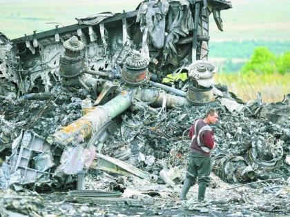 Обломки Boeing 777 // Global Look