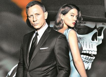 6 ноября «007: Спектр» вышел в российский прокат // кинокомпания WDSSPR
