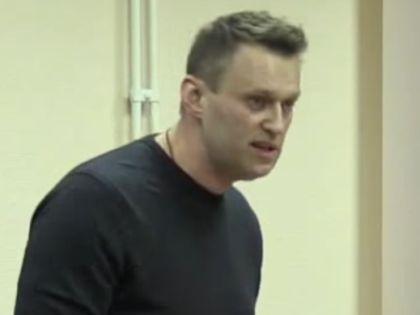 """Алексей Навальный выступает в суде по """"делу """"Кировлеса"""" с последним словом // стоп-кадр / Youtube"""