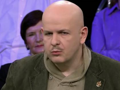 Олесь Бузина // Стоп-кадр «Первого канала»