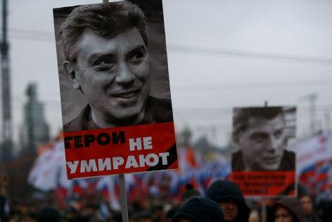 Марш в память о Борисе Немцове // Дмитрий Голубович / Russian Look