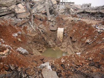 Последствия бомбардировки Сирии // Global Look Press