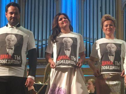 Ильдар Абдразаков, Анна Нетребко, Екатерина Губанова // Страница Филиппа Киркорова в Instagram