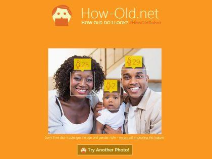 Публика в восторге от новой интернет-игрушки // Сайт How-old.net