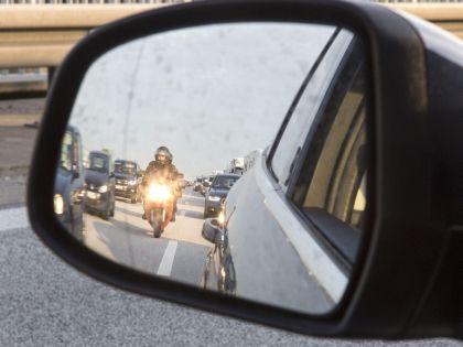Авария произошла в районе 76-го километра МКАД // Global Look Press