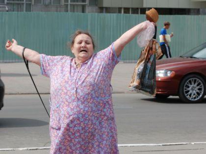 Выясняется, что сумасшедшие спокойно разгуливают по российским улицам // Александр Лёгкий / Russian Look