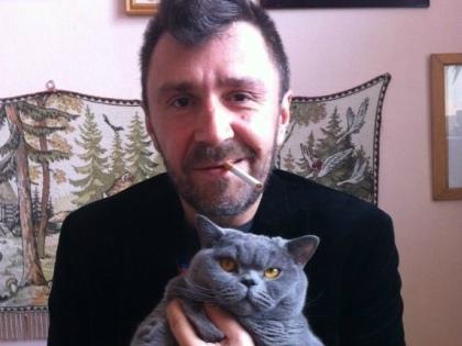 Сергей Шнуров с котиком // Стоп-кадр YouTube