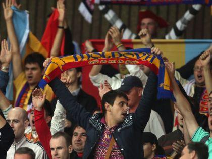 Молдавские фанаты // Global Look Press