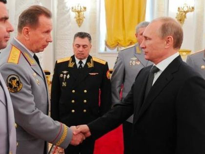 Виктор Золотов и Владимир Путин // РИА «Новости»