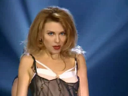 Когда-то Лариса была на всех телеканалах // кадр из клипа